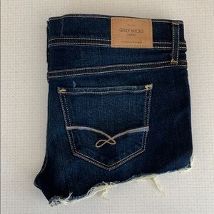 Gilly Hicks Cheeky Stretch Jean Shorts